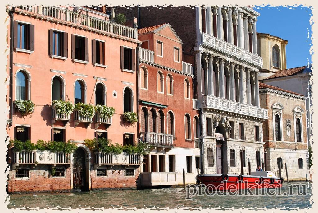 разнообразие венецианской архитектуры поражает