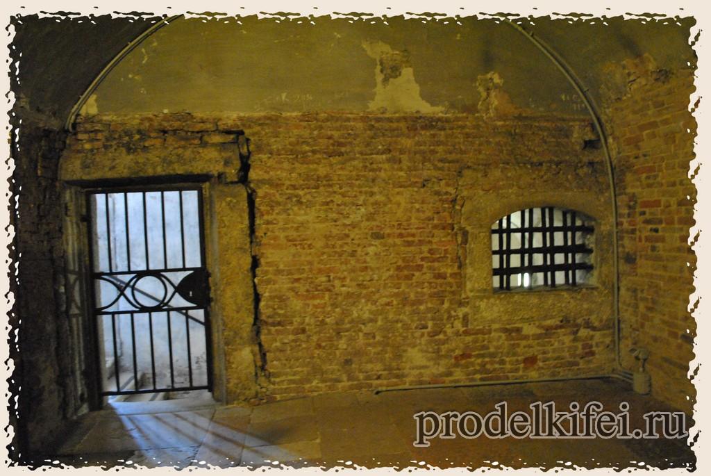 стандартная тюремная камера в Венеции
