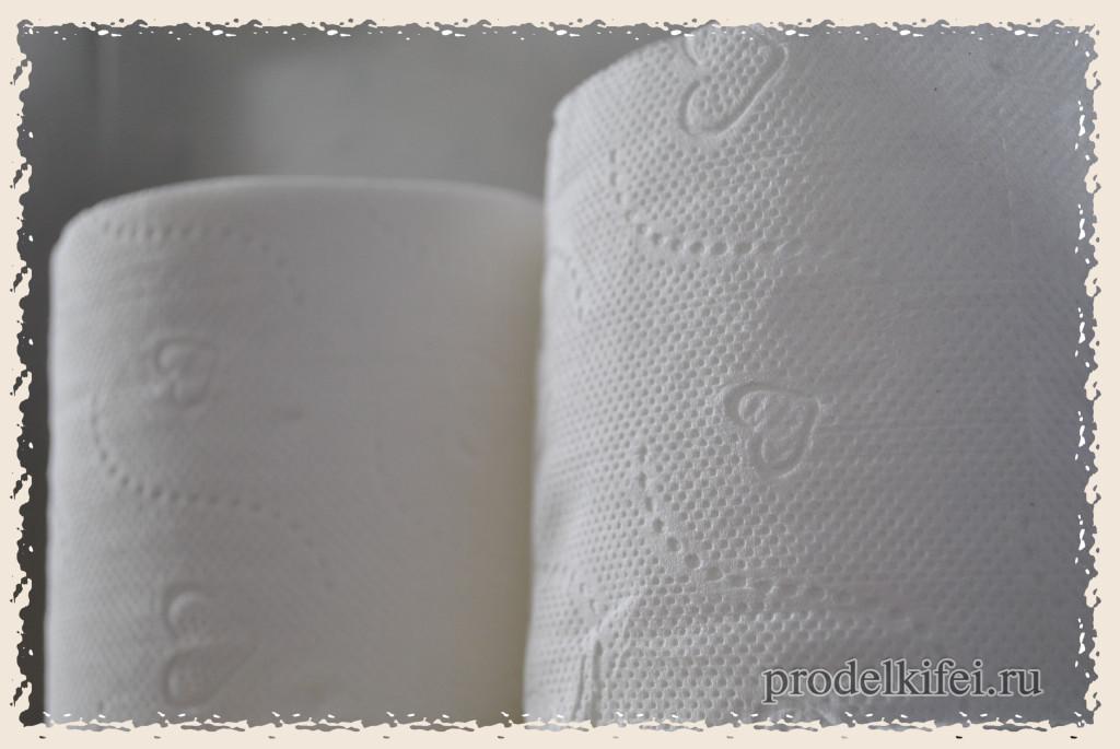 туалетная бумага в отеле Римини