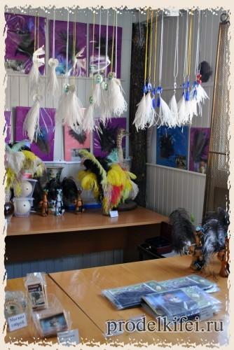 сувениры на страусиной ферме