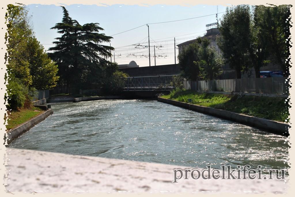 река Адидже в Италии
