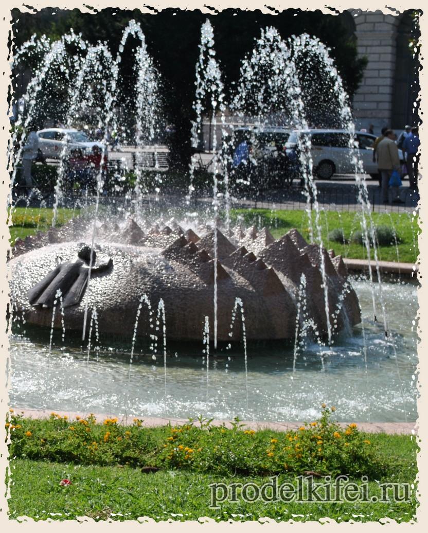 фото фонтан в Италии