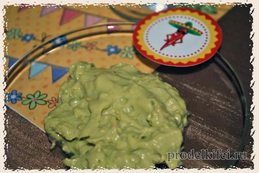 соус гуакомоле на мексиканскую вечеринку