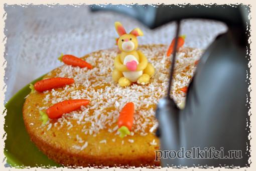 тоторо и морковный торт