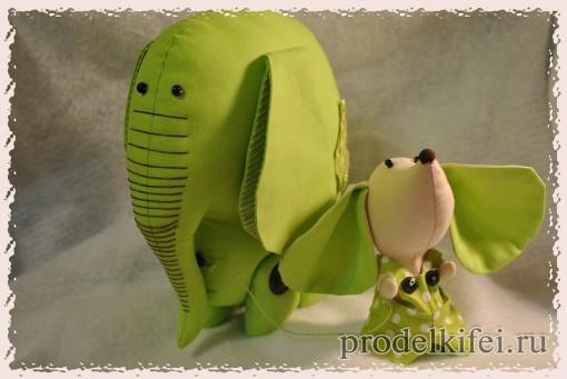 50 готовые Слон и Моська