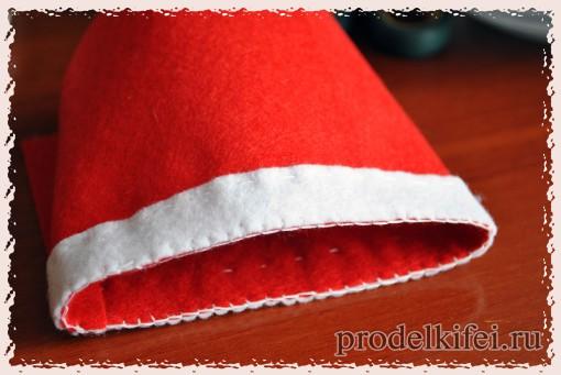 8 шапочка для снеговика своими руками из фетра