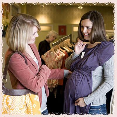 шоппинг беременной