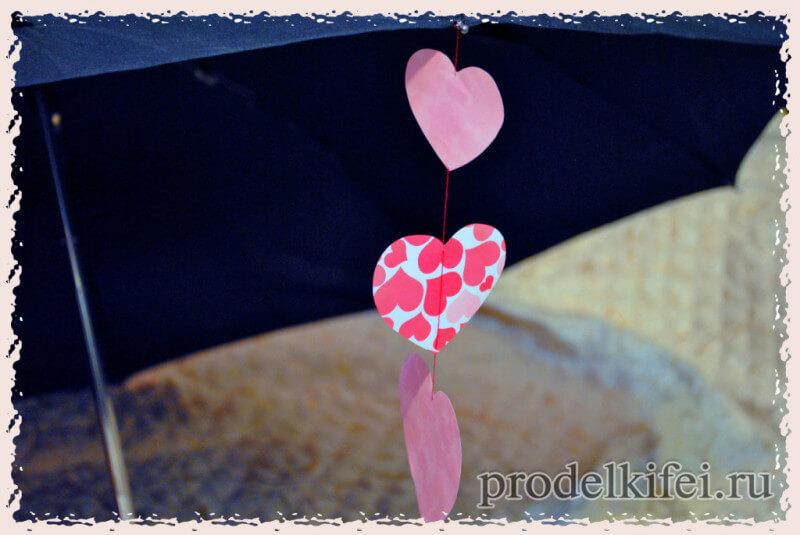 декор зонтика своими руками