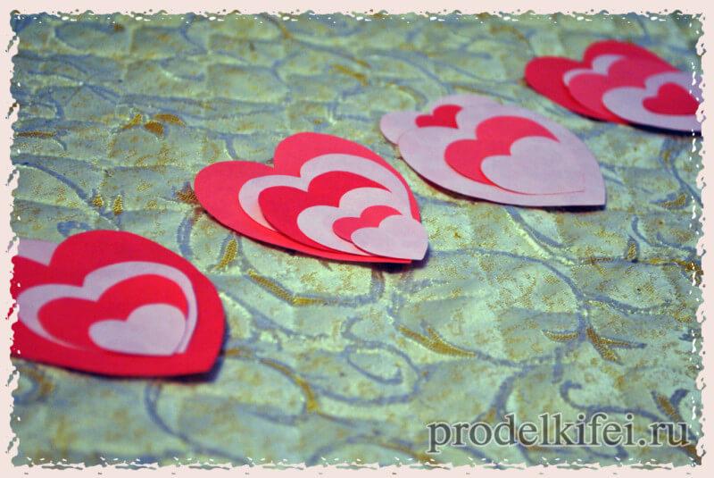 декорируем зонтик к фотосессии на 14 февраля