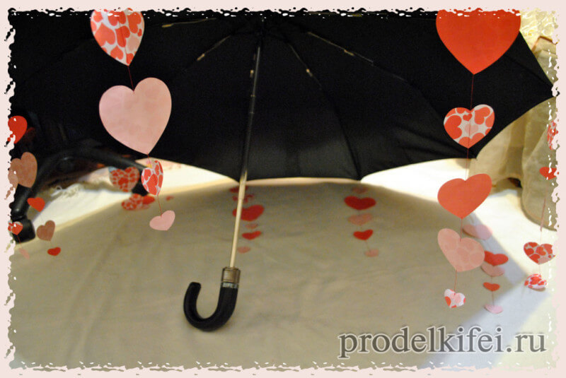 украшаем зонтик подручными материалами к фотосесии