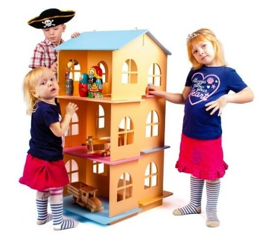 toy house in baby growth