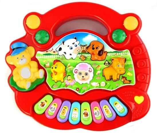 kids piano battery operated