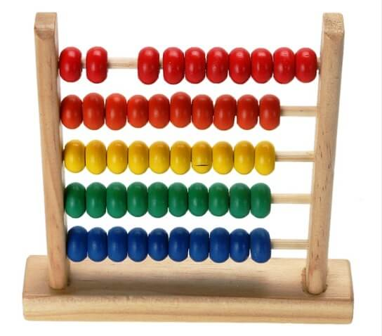 toy abacus for development