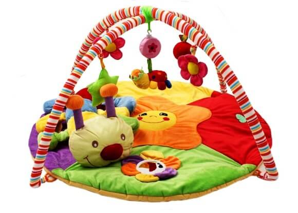 round soft tummy time Mat for baby